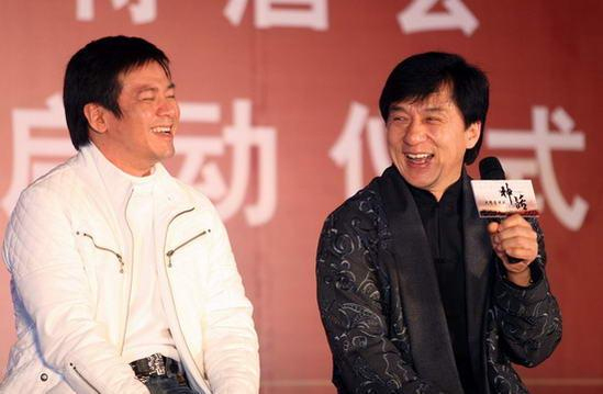 唐季礼&成龙     代表作品:《红番区》《霹雳火